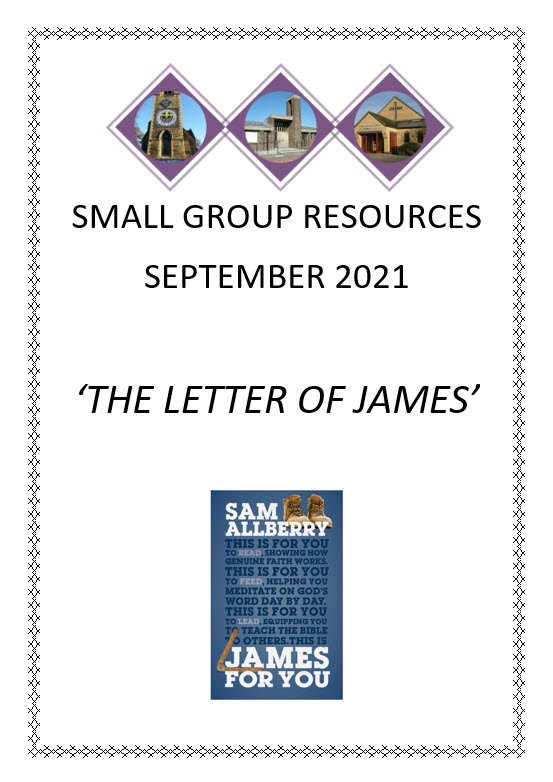 Small Group Notes Sept 2021